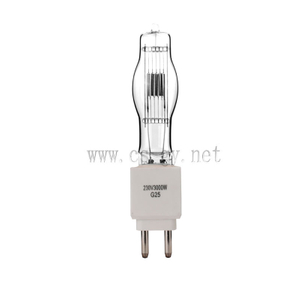 Tungsten Studio halogen lamp G25 230v 3000w
