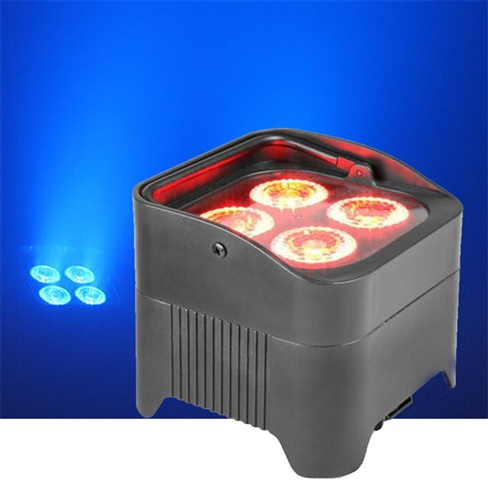Event Lighting 4X15W LED Battery Operated Par Can RGBWAUV LED Wash