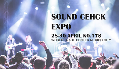 We Will See You at SOUND CHECK EXPO 2019