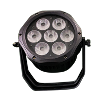 MINI 7PCS Waterproof LED Par Light