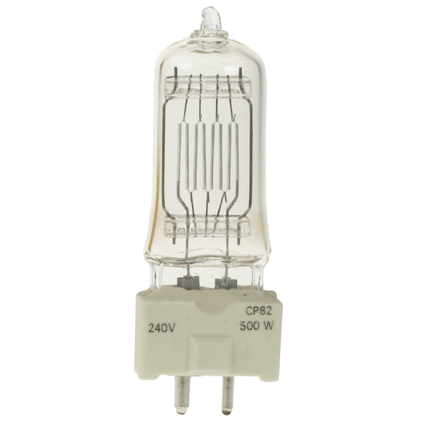Replacement Bulb FOR FRG CP82 120V 500W GY9.5