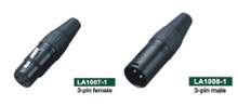 3-pin Male And Female Connector