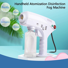Fog Machine 1300W Portable Nano Disinfection Steam Gun Water Mist Sprayer Smoke Machine for Car Home